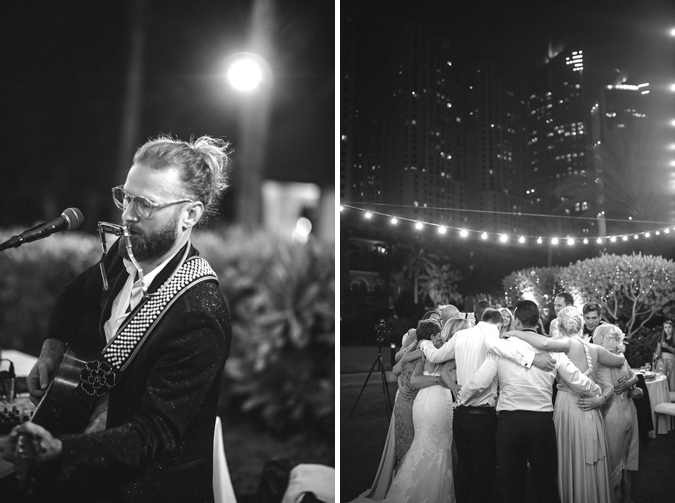 elegant outdoor dubai wedding
