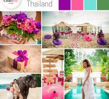 Wedding Colour Scheme { Thai Inspired }
