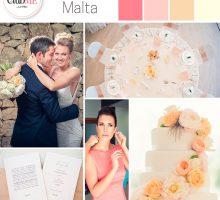 Wedding Colour Scheme { Magic Malta }