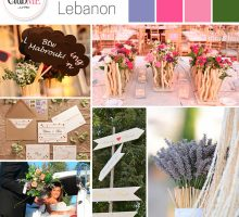 Wedding Colour Scheme { Enchanted Lebanon }