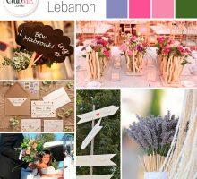 Wedding Colour Scheme { Enchanted Lebanon }