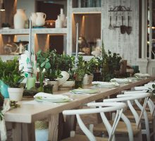 A 'Green Sage' Minimalistic Styled Shoot By The Day Weddings & Events