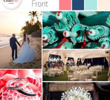 Wedding Colour Scheme { Beach Front }