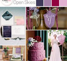 Wedding Colour Scheme { Scottish Open Skies }