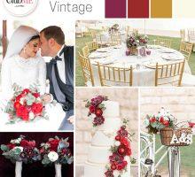 Wedding Colour Scheme { Outdoor Vintage }