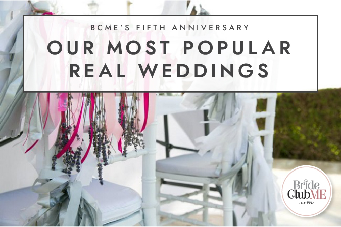 BCME's Fifth Anniversary: Our Most Popular Real Weddings