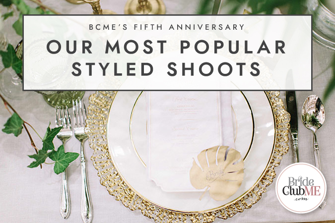 BCME's Fifth Anniversary: Our Most Popular Styled Shoots