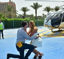 Diary Of A Real Bride: A Surprise Helicopter Proposal In Dubai