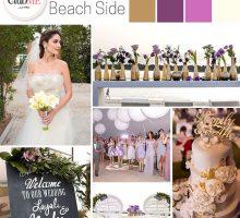 Wedding Colour Scheme { Glamorous Beachside }
