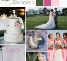 Wedding Colour Scheme { Parisian Sentiments }