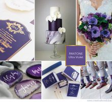 Wedding Colour Scheme { Ultra Violet – Pantone's Colour Of 2018 }