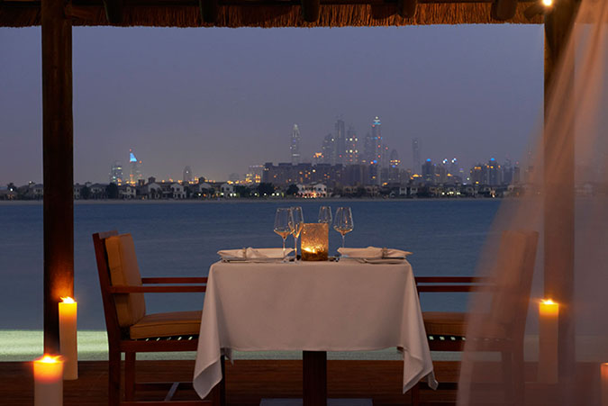 Romantic-Cabana-Dinner-night