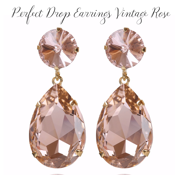 PERFECT DROP EARRINGS VintageRose