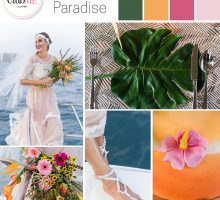 Wedding Colour Scheme { Ocean Paradise }