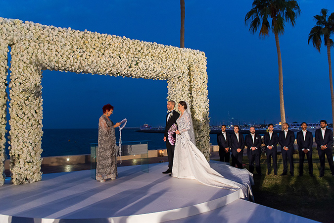 Burj Al Arab wedding 5