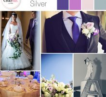 Wedding Colour Scheme { Lilac And Silver }