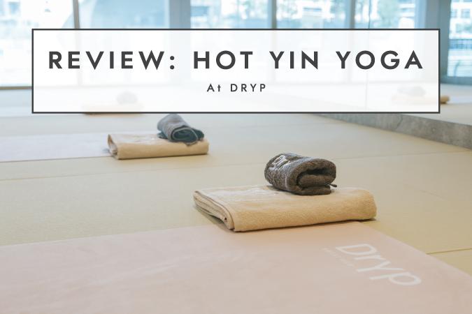 hot yin yoga at dryp