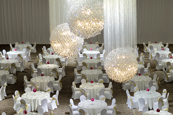 Great Ball Room - Arial View