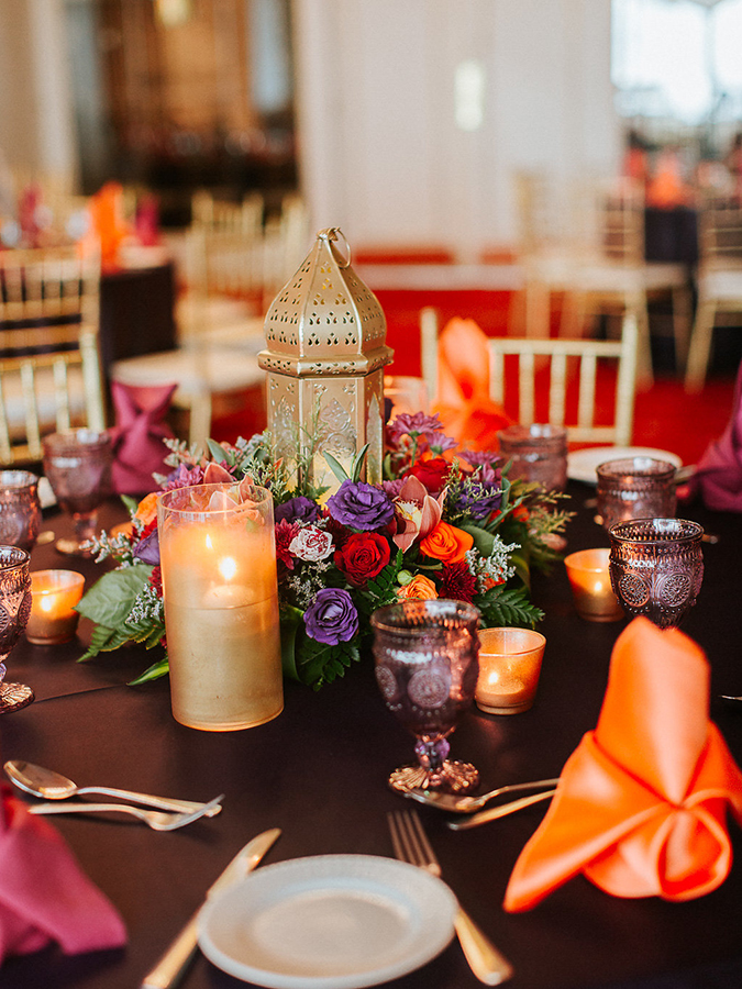 Vibrant Décor-Focused Wedding