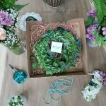 Turquoise Boutique Studio Flower Crown Kit - open box