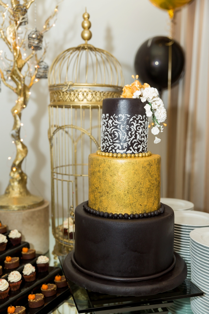 BCME - Gold Chocolate Cake - Wedding Industry Networking
