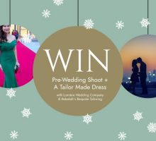 BCME's 2018 'Festive' Giveaway – WIN A Custom Made Dress & A Pre-Wedding Photoshoot