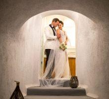Kata & Warren: A Beautifully Intimate Destination Wedding In Santorini