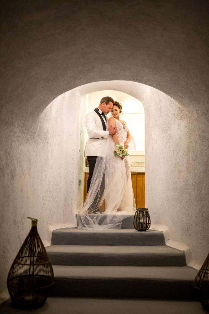 Kata & Warren: A Beautifully Intimate Destination Wedding In Santorini