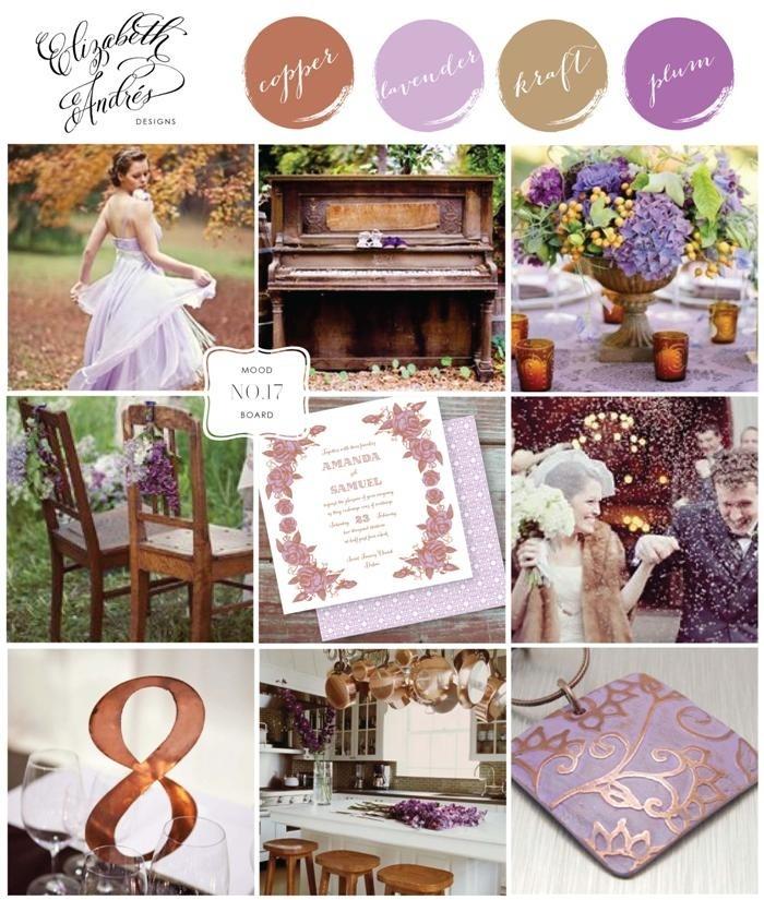 Elizabeth Andres Designs - Wedding Mood Board