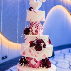 Wedding Cake at the W Hotel Dubai Palm Jumeirah