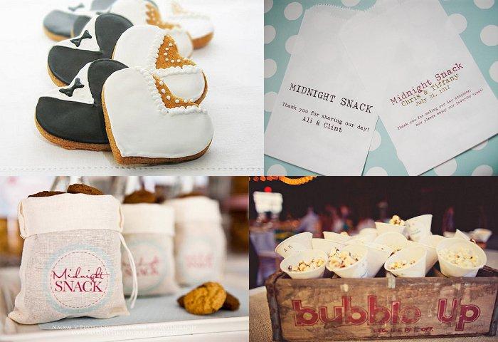Midnight Wedding Snacks - Bride Club ME