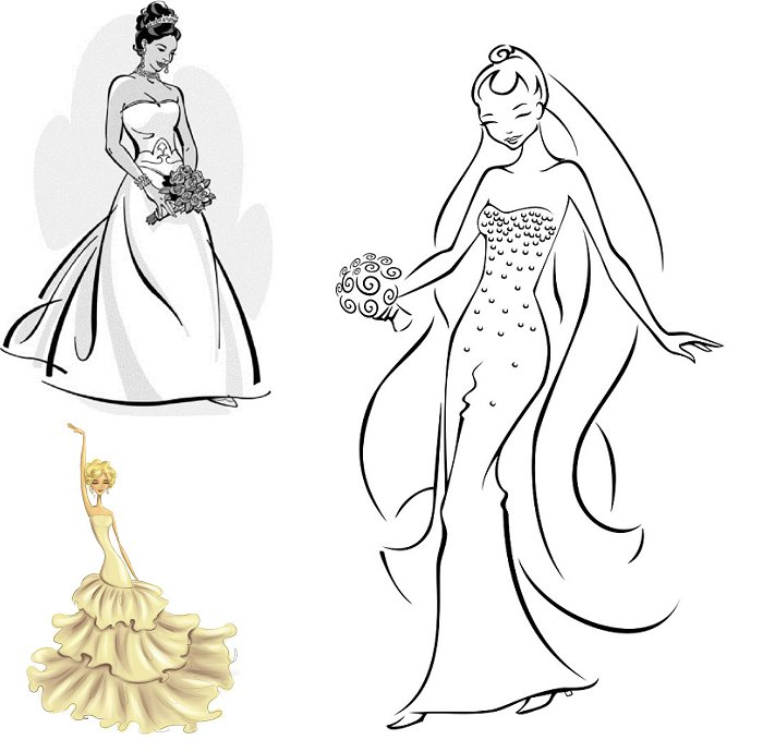 Bridal Gown Shapes