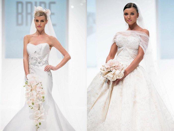 Khalid Khalil wedding gowns
