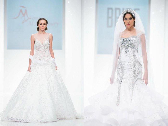 Dar Al Mansoury Wedding gowns