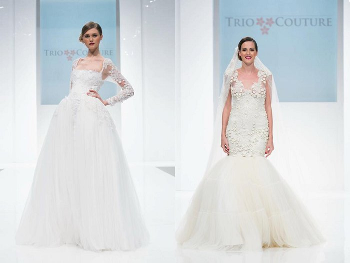 Trio Couture wedding gowns