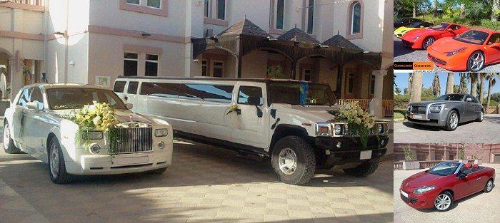 Wedding cars Dubai