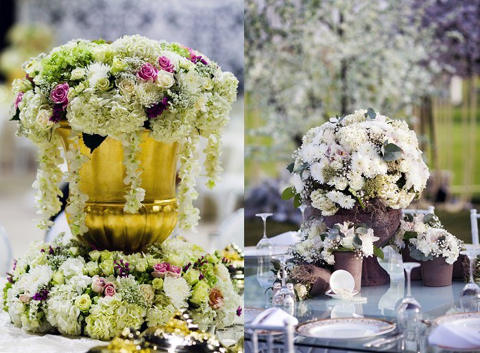 Dubai wedding flowers