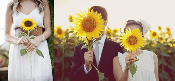 Single Wedding flower bouquet