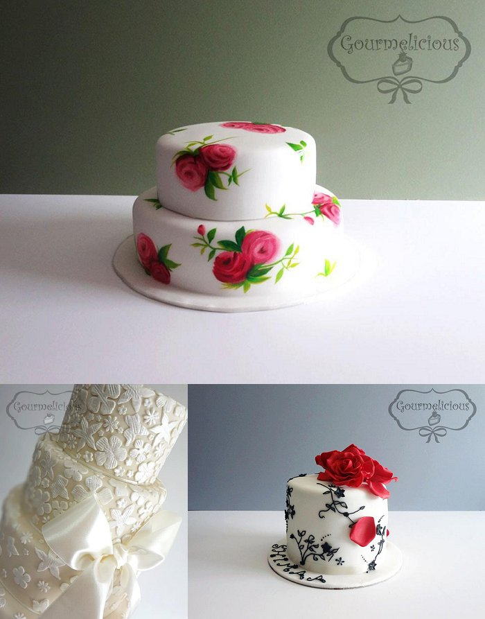 Dubai wedding cakes