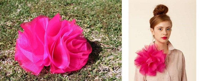 DIY –  Oversized Corsage Flower