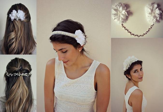 Beautiful Bridal Hair Accessories Plus Size Wedding Dresses