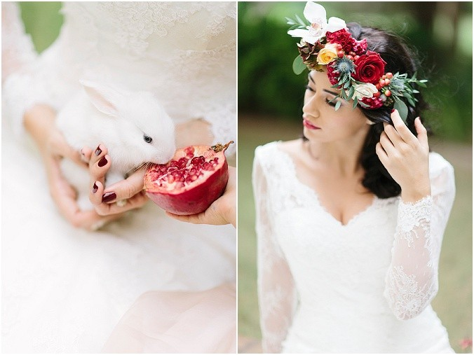 Valentines wedding inspiration