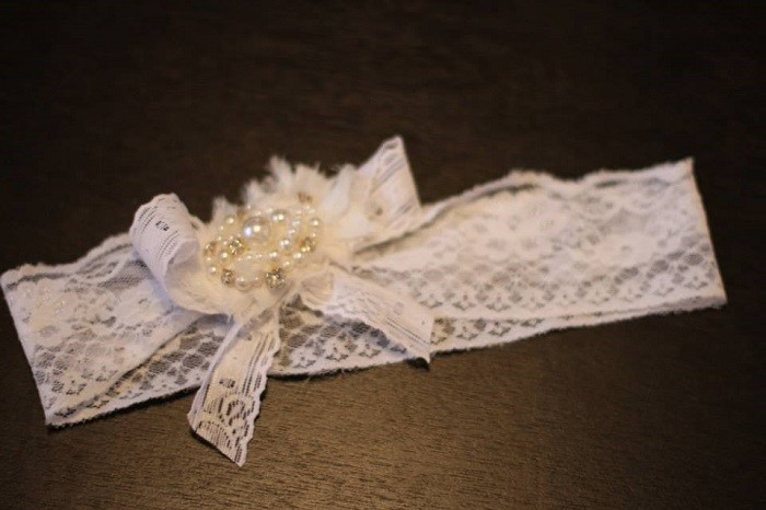 DIY Gatsby Inspired Headband - Bride Club ME -1