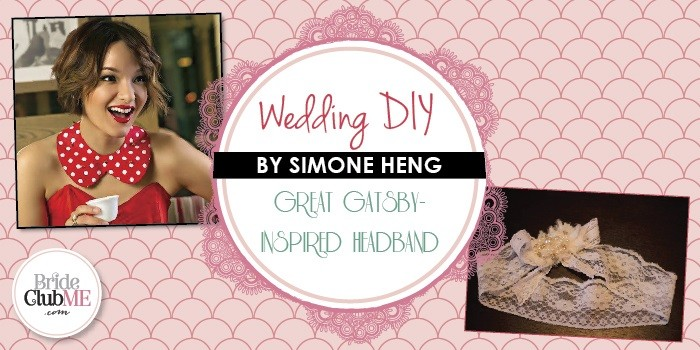DIY Gatsby Inspired Headband - Bride Club ME