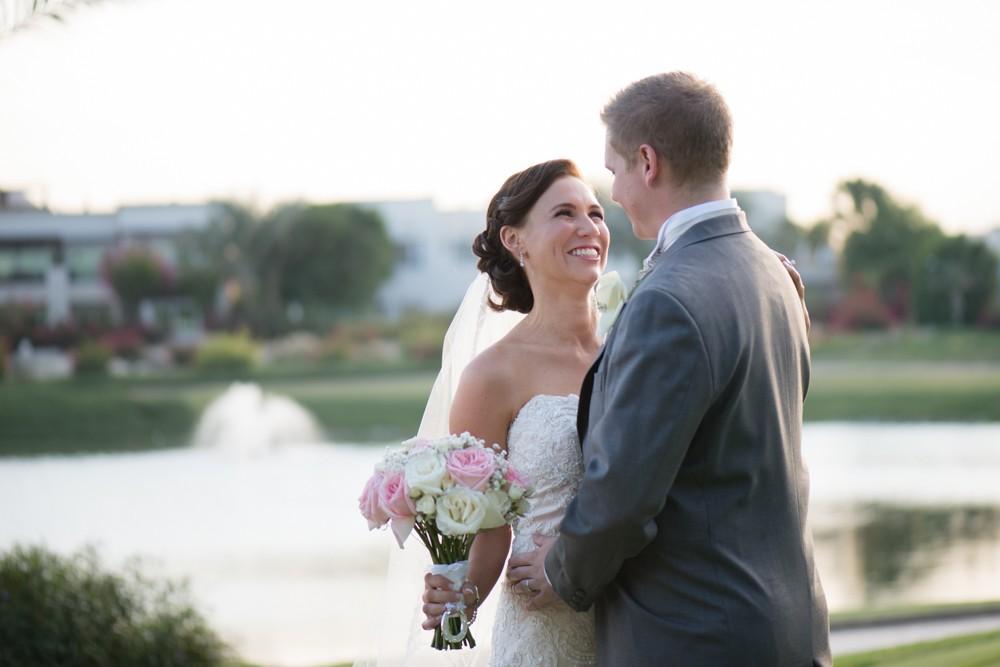 A Parisienne themed, sentimental wedding at The Address Montgomerie, Dubai