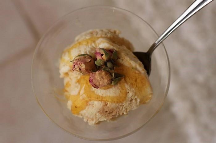 DIY recipes - Umm Ali Icecream