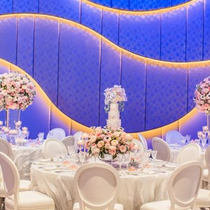 Great Room Wedding Setup at the W Hotel Dubai Palm Jumeirah