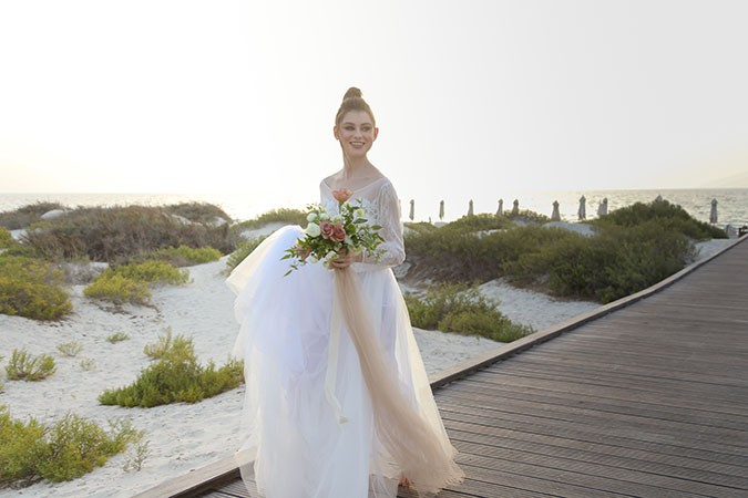 A 'Neutral Bohemian Wanderer' styled shoot by Cloud 9 Weddings & Events