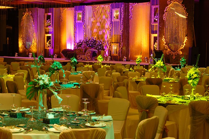 Indian wedding set-up