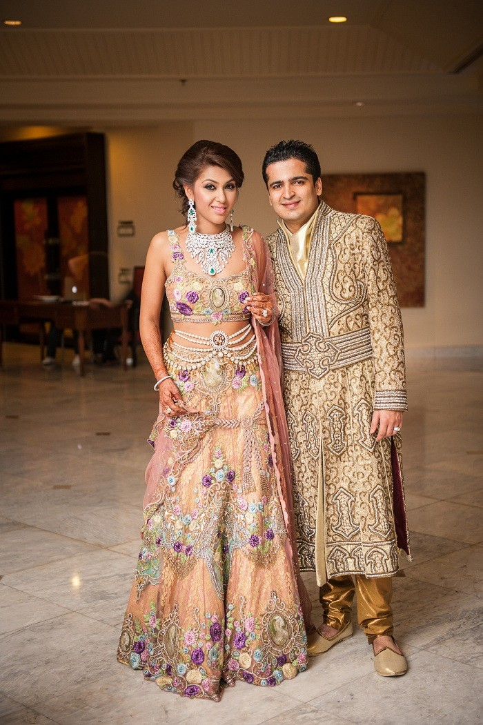 Arjun and Anjalee Kapoor Lehenga